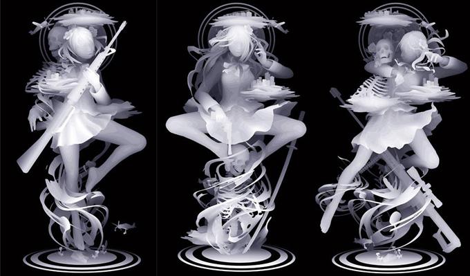 Работы Казуки Такамацу