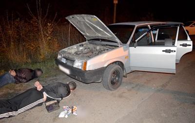 НаПолтавщине задержала ОПГ угонщиков авто, вкоторую входили полицейские