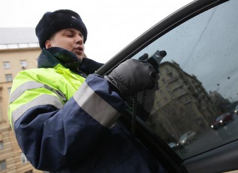 Впраздники в российской столице 188 водителей попались на нетрезвой езде
