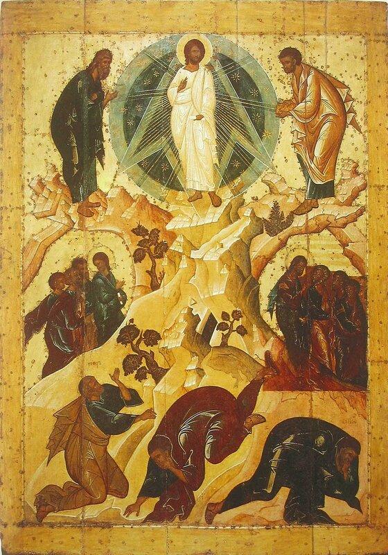 Icon of transfiguration (Spaso-Preobrazhensky Monastery, Yaroslavl)