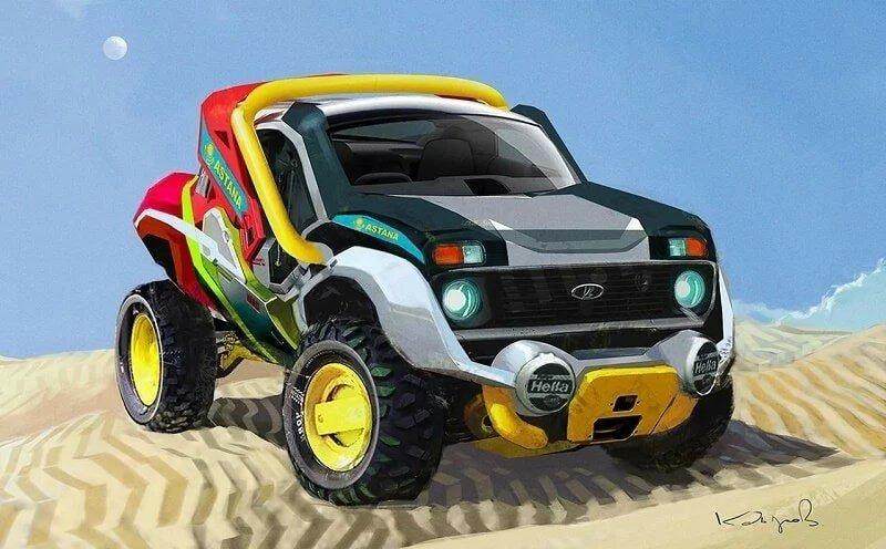 Казахский художник превратил советские автомобили в героев «Безумного Макса»!