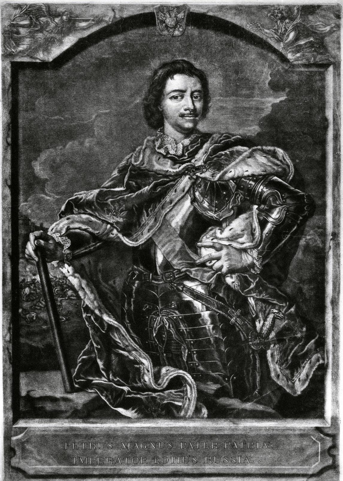 322. Портрет Петра I