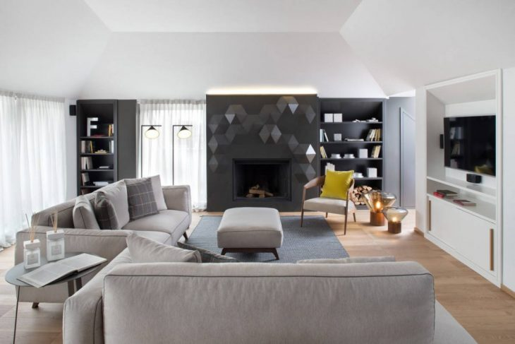Take a tour of this contemporary apartment located in Milan, Italy, designed by interior designer An