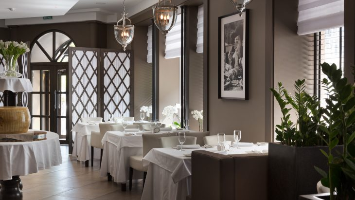 European Cuisine restaurant by Alexandr Shepel Architecture and Design