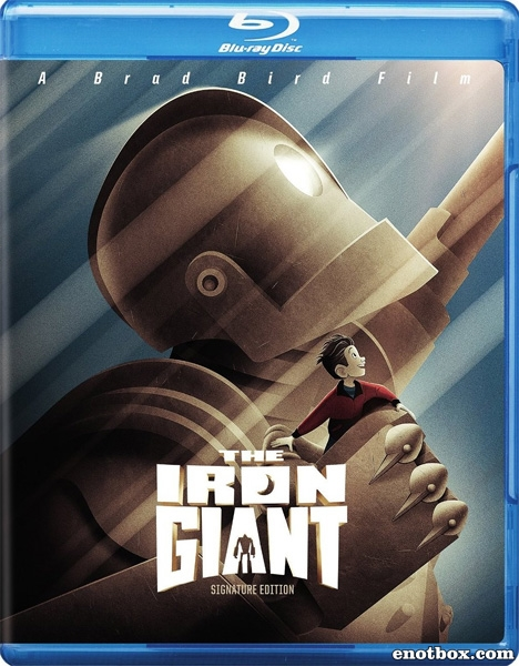 Стальной гигант / The Iron Giant (1999/BDRip/HDRip)