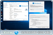 Microsoft® Windows 10 Enterprise LTSB x86-x64 1607 RU Office16 by OVGorskiy® 10.2016 2DVD
