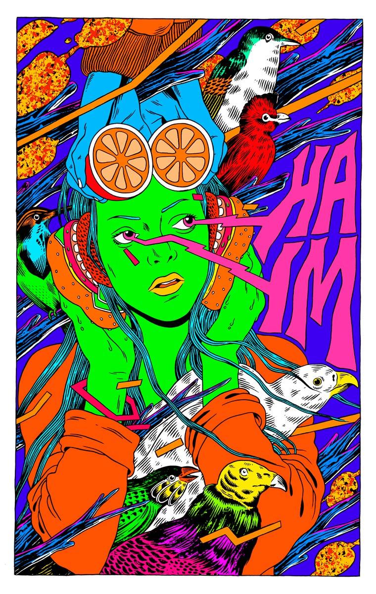 Les illustrations explosives du collectif bresilien Bicicleta Sem Freio
