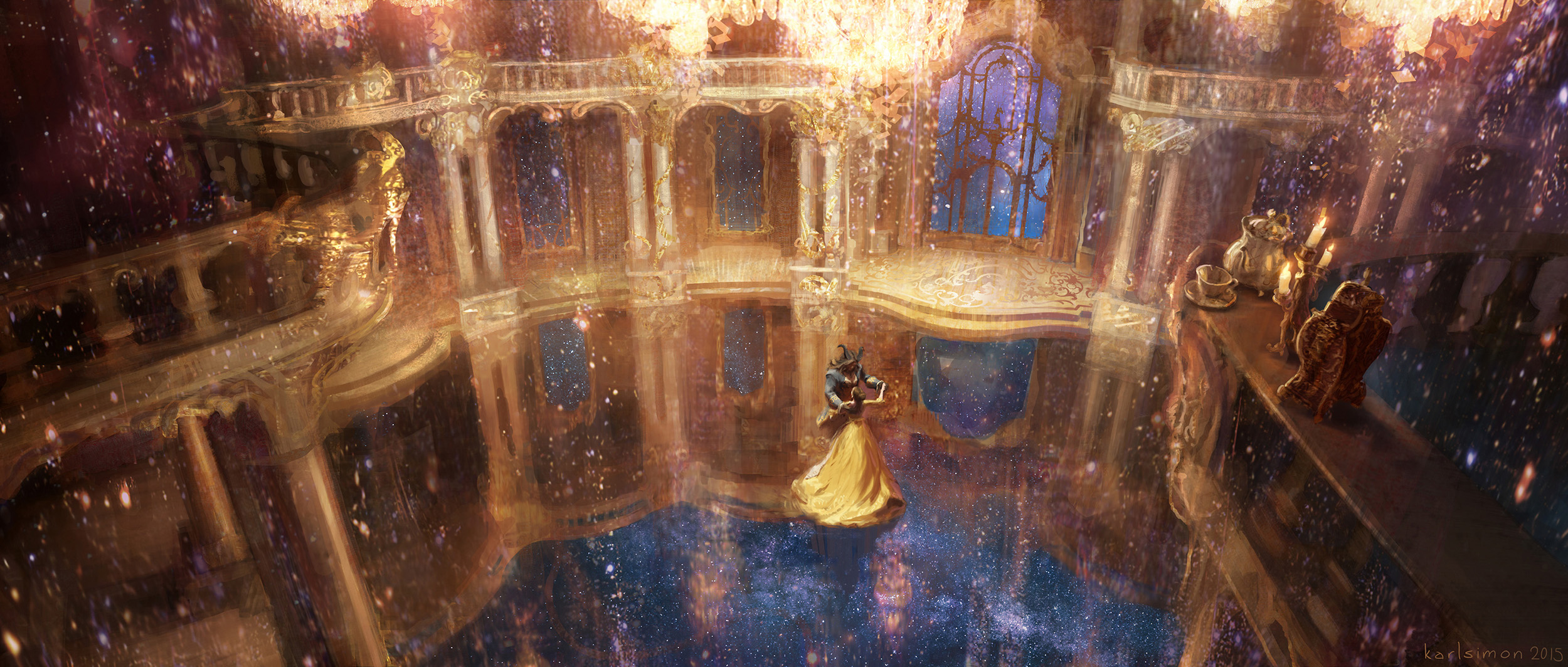 Beauty and the Beast Concept Art by Karl Simon (33 pics)