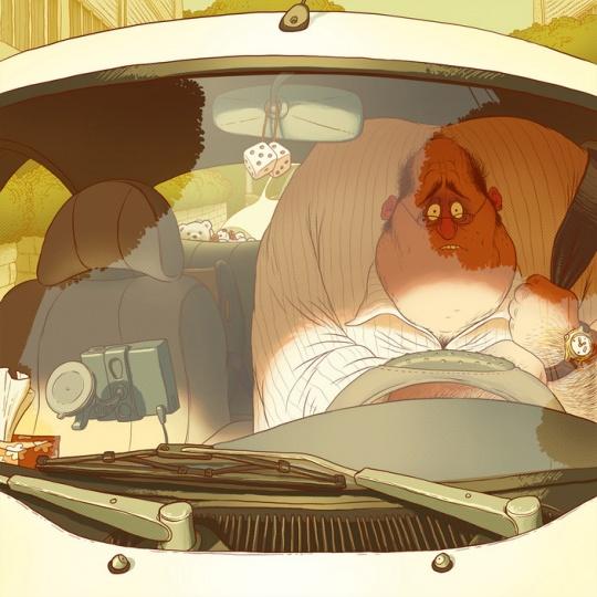 Brilliant Cartoon Illustrations by Denis Zilber