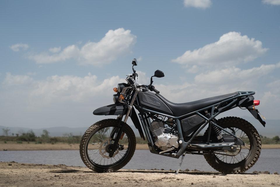Kibo K150 - новый мотоцикл в Кении