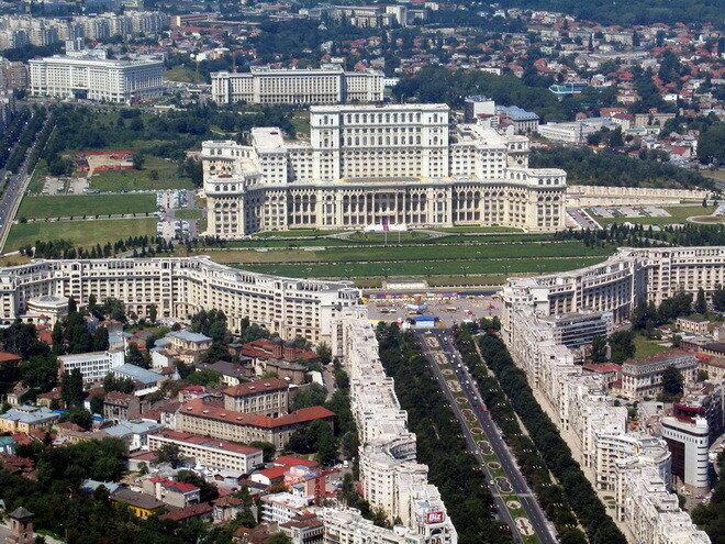 Дворец Парламента Румынии