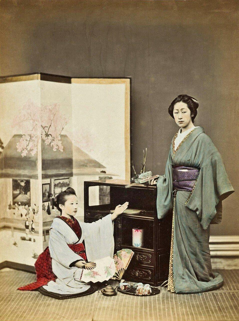 Две женщины. 1880