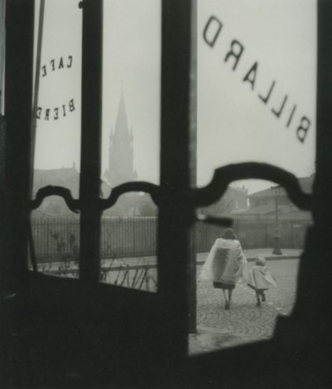 1948. Бистро на углу. Бельвиль, январь