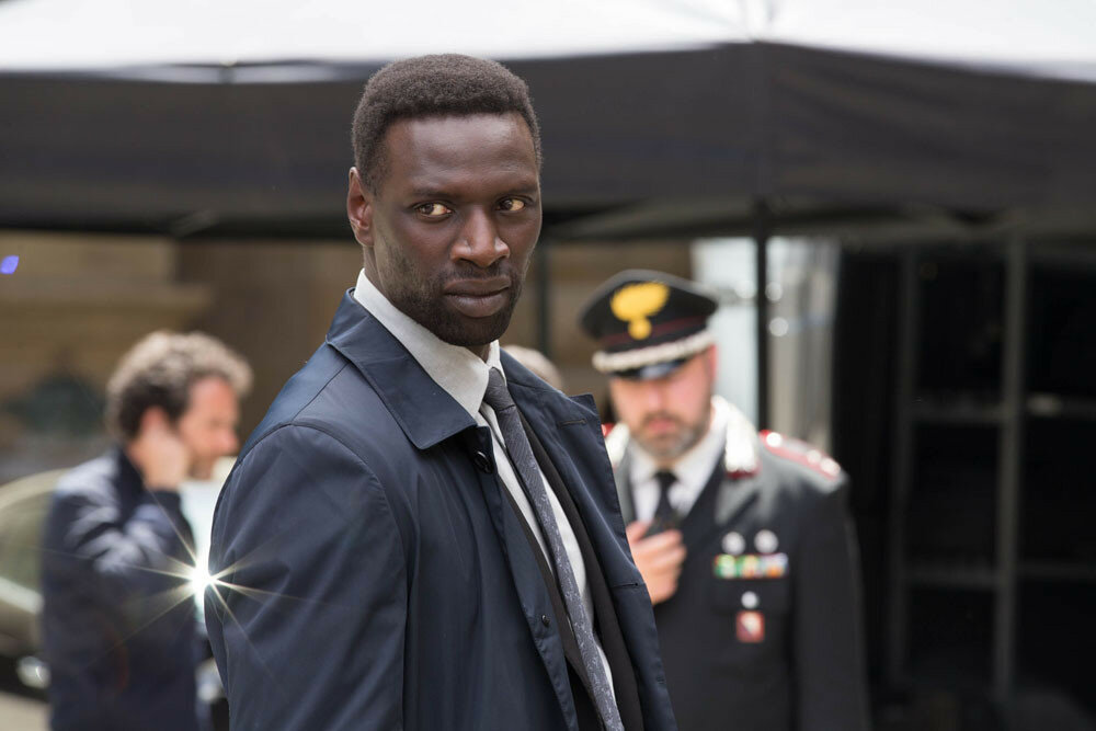 "Omar Sy in Columbia Pictures' ""Inferno,"" starring Tom Hanks and Felicity Jones."
