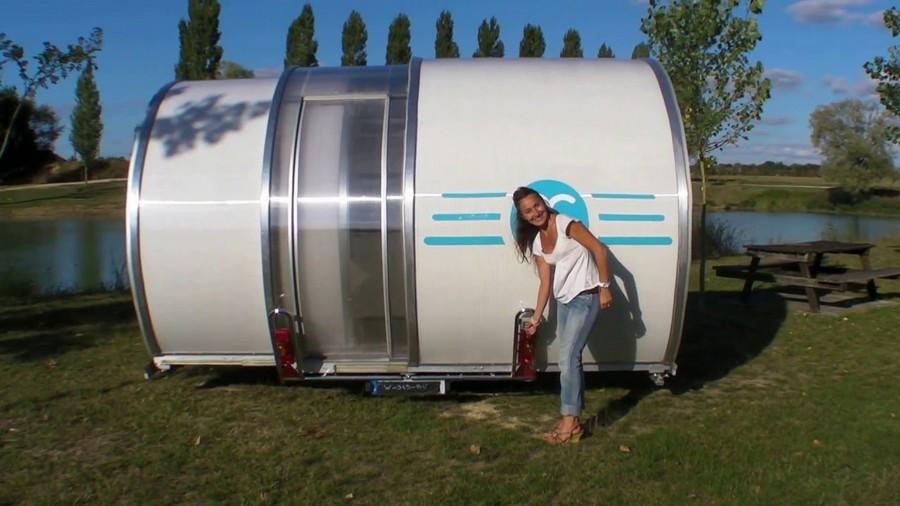 Раздвижной дом на колесах BeauEr 3X