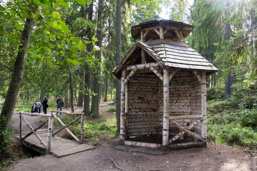 alexbelykh.ru, парк Монрепо, хижина отшельника в Монрепо