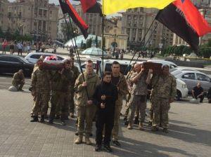 Киев провел в последний путь павших воинов