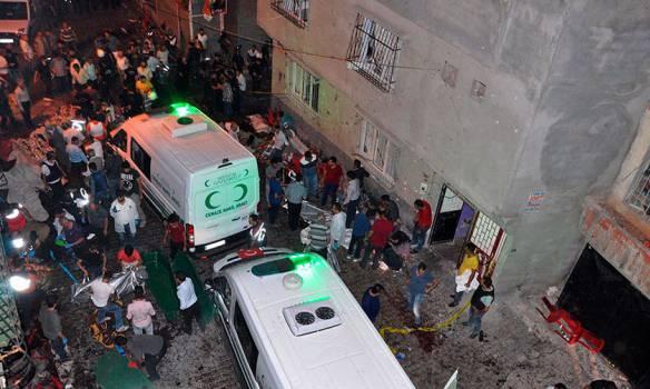 Число погибших в результате взрыва на свадьбе в Турции достигло 50 человек. ФОТОрепортаж
