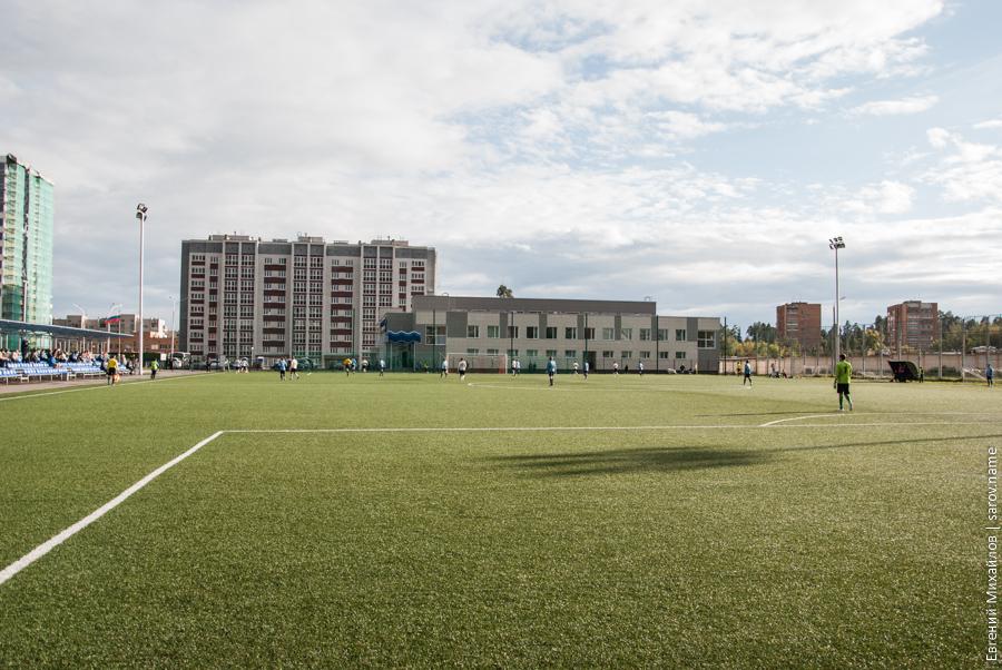 саров - металлург футбол
