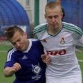 Московские футболисты померялись силами перед первенством России.