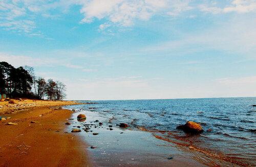 Весенний  Финский залив