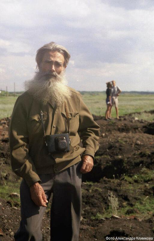 В.Г. Шпильчин. Фото А. Климкова.1999
