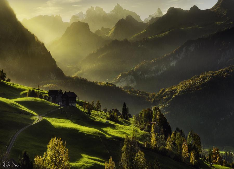 55.Швейцария Эта страна возглавляет рейтинг самых счастливых стран в мире. Именно здесь множество ф