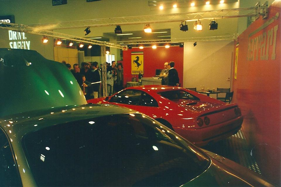 Московский автосалон 1998 года (38 фото)