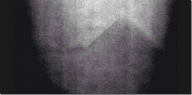 © NASA  Это фото было сделано вовремя миссии «Аполлон-17» ивархиве значилось как засвеченно
