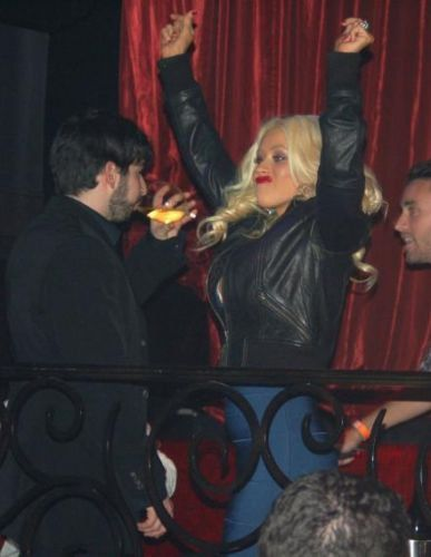 Christina Aguilera and Cameron Diaz