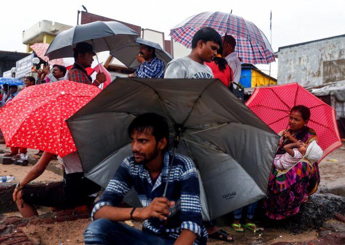 Кадры повседневной жизни граждан Индии