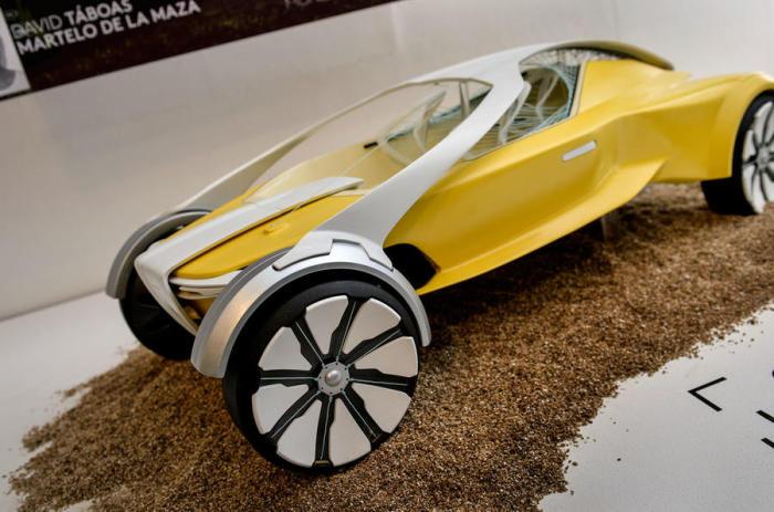 Автор концепта – Давид Табоас Мартело Де Ла Маза. Автомобилем будущего, согласно нынешних представле