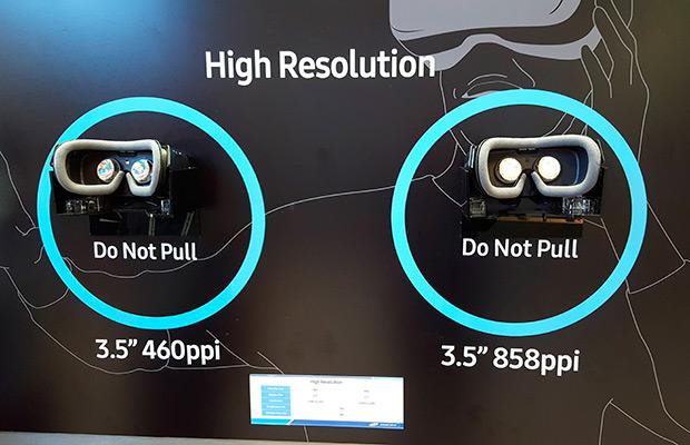 Самсунг представил 3,5-дюймовый дисплей смаксимально высоким разрешением