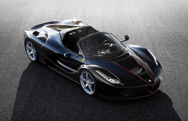 Самый мощный Ferrari остался без крыши - фото LaFerrari Aperta