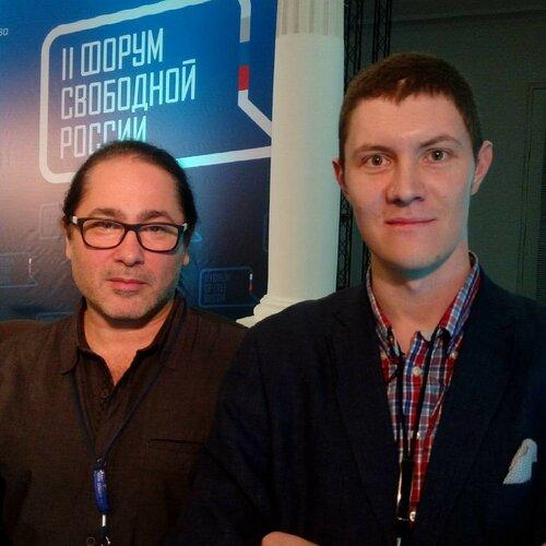 Денис Стяжкин и профессор Лебединский