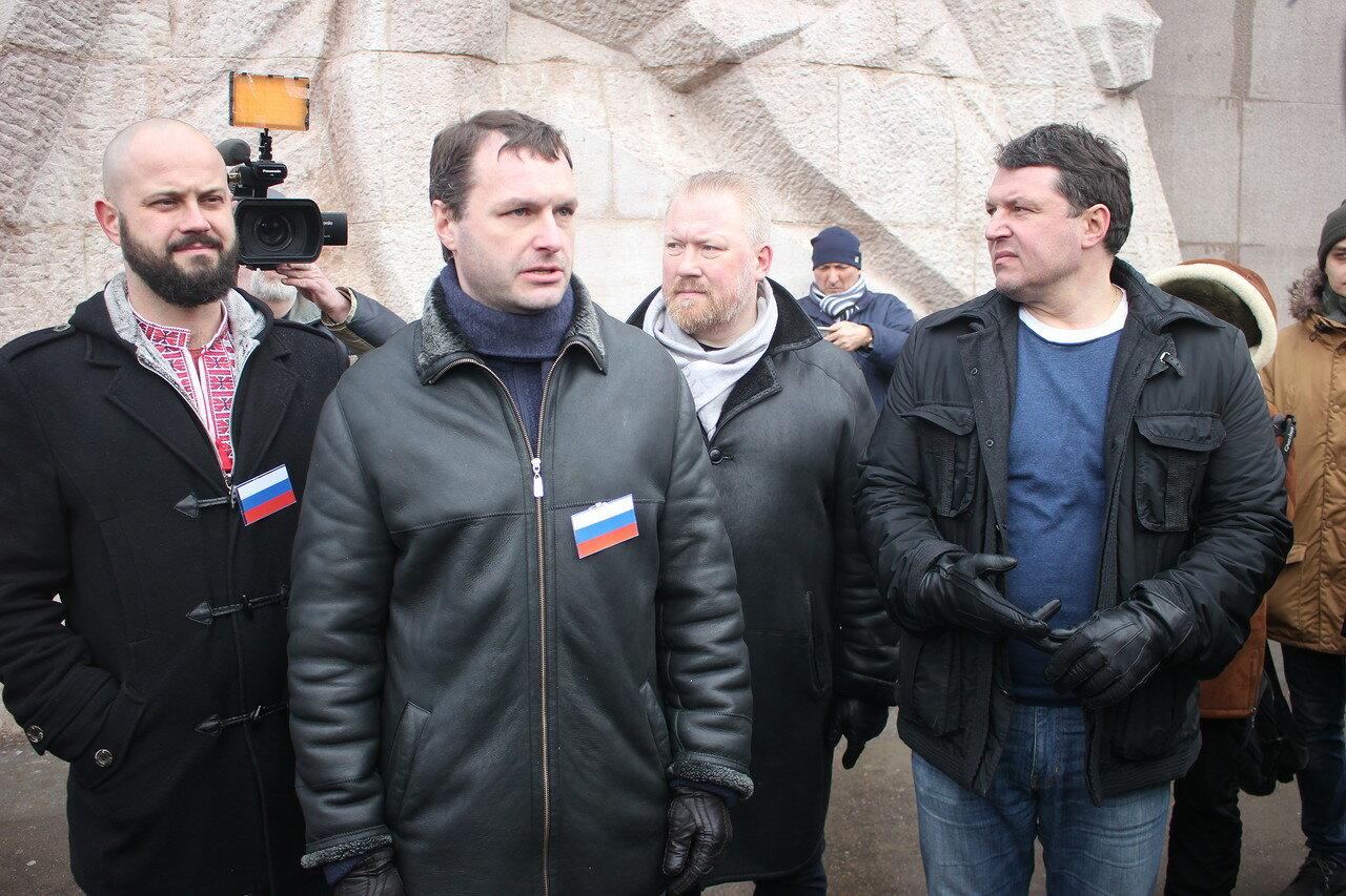 Роман Ковалев, Дмитрий Степанов, Юрий Горский, Владимир Залищак