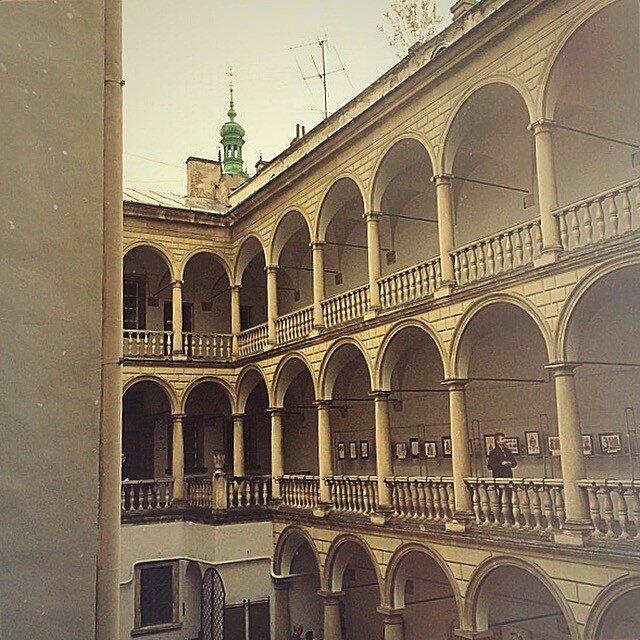 Итальянский дворик исторического музея