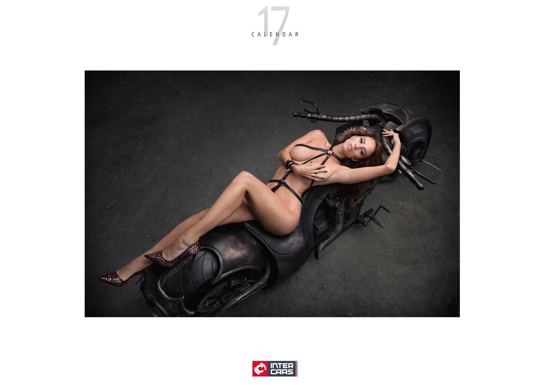 Inter Cars SA 2017 sexy calendar