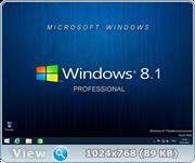Windows 8.1 Профессиональная VL (x86/x64) Elgujakviso Edition (v.15.01.17) [Русская]
