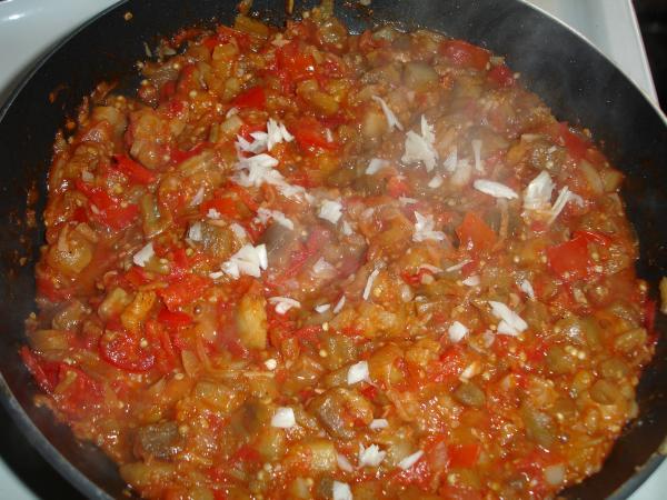 жареные баклажаны помидорами рецепт фото