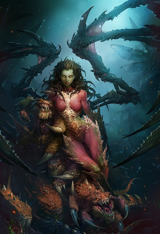 Cool Fantasy Art by Laurel D Austin