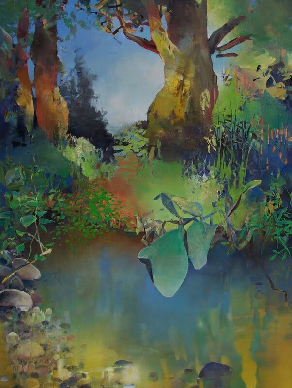Up from the Creek oil on canvas 4
