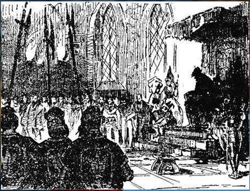 Рисунки художника Г. Г. Филипповского. Ил - я романа В. Скотта. Квентин Дорвард (6).jpg