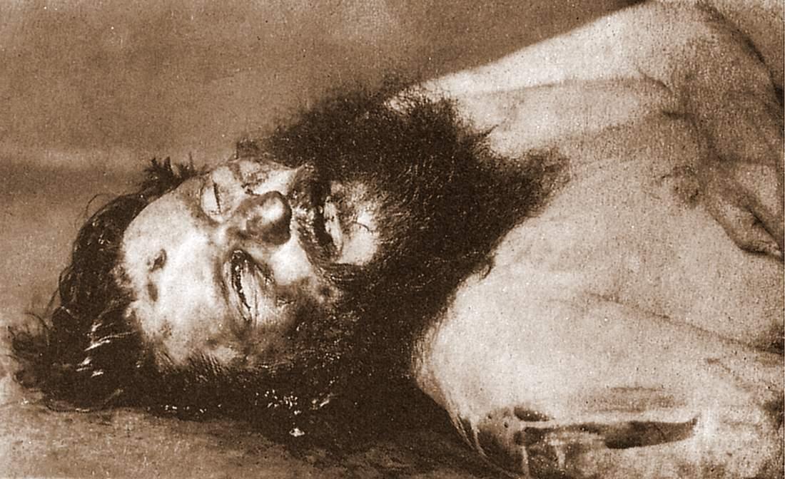 Григорий Распутин в морге