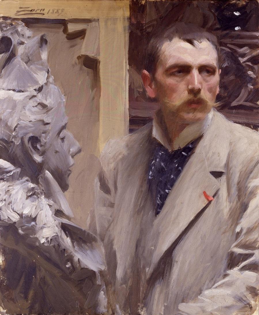 1889 (ок)_Автопортрет (Self Portrait)_74.5 х 62.5_х.,м._Флоренция, Уффици.jpg