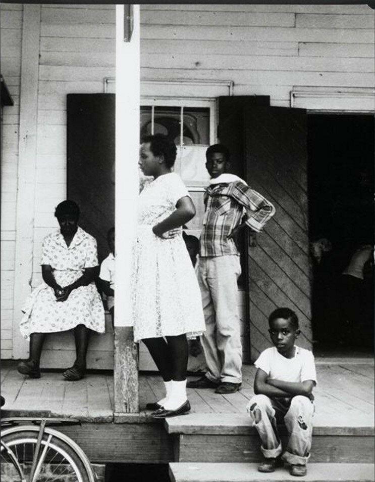 1957. Негры Луизианы