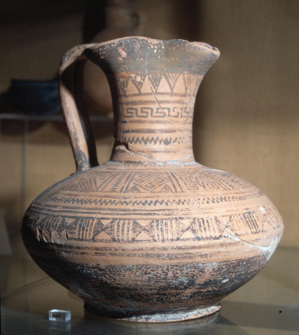 Родос, Археологический музей.  Кувшин из некрополя Камироса, конец VII в. до н.э.