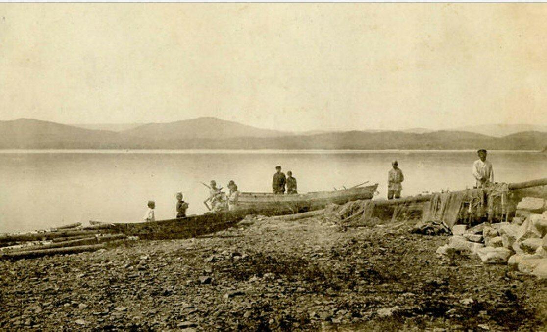 Окрестности Миасса. Тургояк.  Озеро Тургояк. Рыбаки