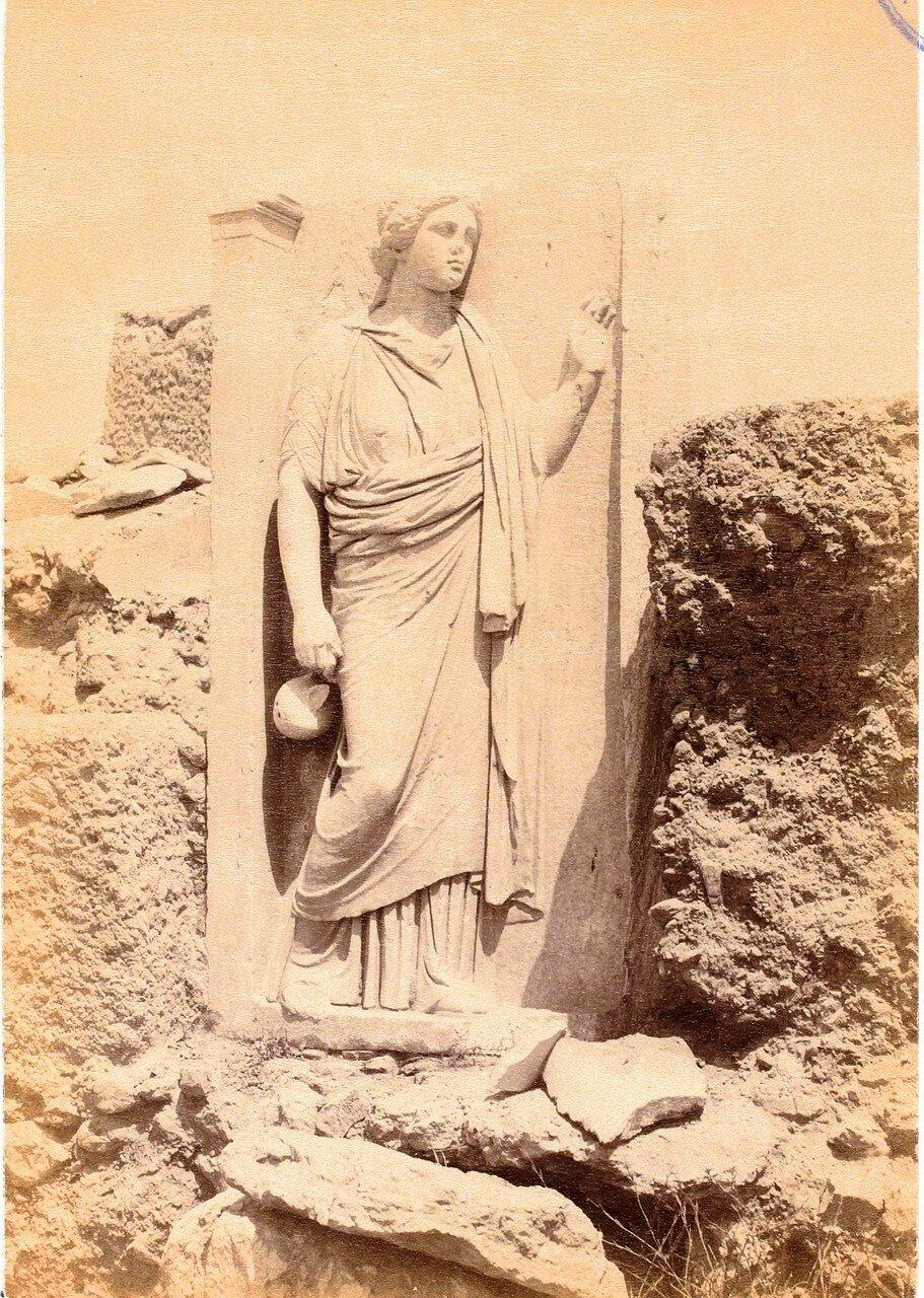 62. Афины. Кладбище Керамик.