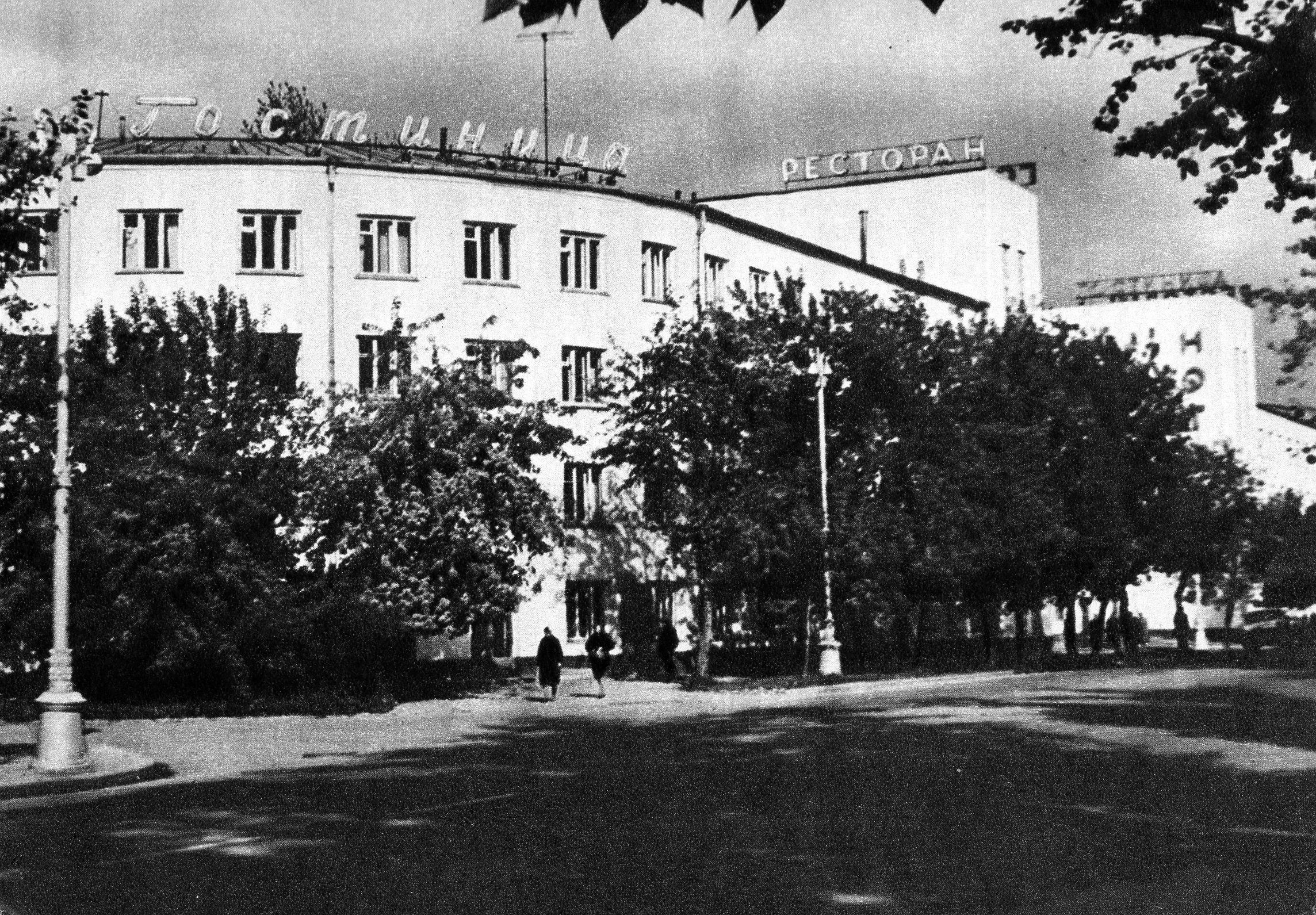 14. Гостиница «Сибирь»